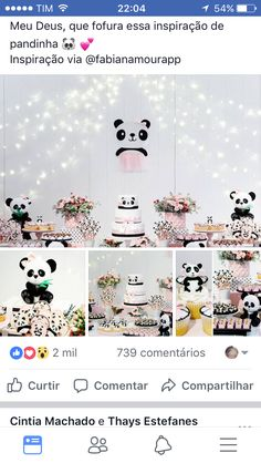 Party Fun, Party Ideas, Panda Baby Showers, Panda Decorations, Panda Party, Emma Rose, Best Part Of Me, Snoopy, Diy