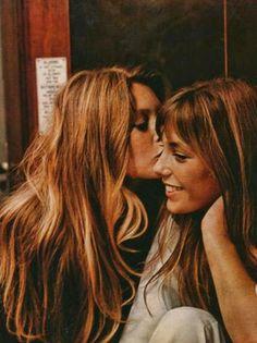 Brigitte Bardot et Jane Birkin, 1960s