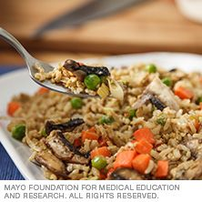 This fried rice is as flavorful as your favorite takeout version, but it's packed with brown rice and veggies.