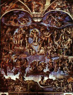 The Last Judgement, Michelangelo