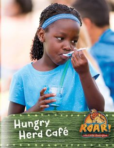Hungry Herd Cafe Leader Manual - Roar VBS by Group