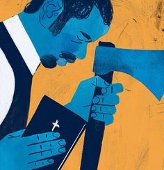 """""""The Birth of a Nation"""" arrives amid a resurgence in movies about slavery. ILLUSTRATION BY KEITH NEGLEY"""