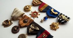This past week I've been working on some more medals for my Major General Steampunk Character (cuz you can never have too many, right?). I'...