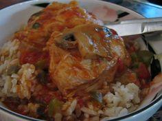 Chicken Cacciatore (Pressure Cooker)