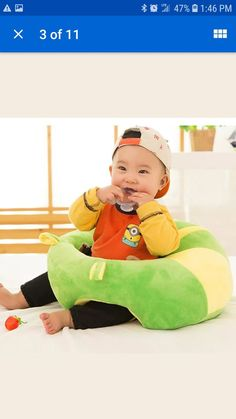 BABY SUPPORT Seat Sit Up soft chair pillow for Sale in Tampa, FL - OfferUp Baby Sofa Chair, Soft Chair, Chair Pillow, Pillows, Sit Up, Pillow Sale, Pediatrics, Baby Kids, Infant