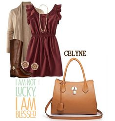 Geanta dama din piele naturala CELYNE CAMEL Autumn, Polyvore, Image, Collection, Fashion, Moda, Fall Season, Fashion Styles, Fall