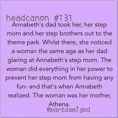 The jealous mother. | Community Post: 20 Headcanons Percy Jackson Fans Will Love