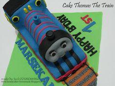 HONEY CAKES: Thomas The Train Cake For Marshal