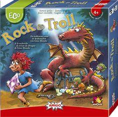 Rock & Troll: Verzamel de drie sleutels onderweg naar de schatkist. Dit lukt alleen maar door goed samen te werken... Hopelijk krijgt de draak je niet te pakken.