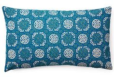 Medallion 14x24 Pillow, Seaport Blue on OneKingsLane.com