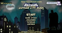 Jump, Glide and Slide through mile after mile of Gotham City in this nonstop arcade platformed. Online Games For Kids, Play Online, Games For Girls, Love Games, Games To Play, Rush Games, Batman Games, Online Bike, Comic Book Superheroes