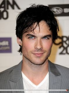 Ian Somenhalder. Yum!!! Makes Vampire Diaries soooo much better!