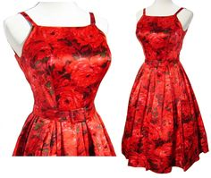 Never be a wallflower again with this stunning vintage party dress.