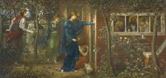 PROPERTY FROM AN AMERICAN PRIVATE COLLECTION John Melhuish Strudwick THE TEN VIRGINS Estimate 250,000 — 350,000 GBP