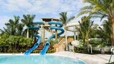The new park at the Hyatt Regency Coconut Point Resort & Spa in Bonita Springs features a trio of three-story waterslides plunging into a heated lazy river.