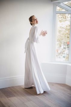 Modest Wedding Gowns, Wedding Dress Styles, Cute Fashion, Fashion Outfits, Wedding Inspiration, Style Inspiration, Wedding Ideas, Couture Dresses, Bridal Collection