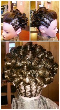 This updo was created by Lisa Dasilva, a student at the Empire Beauty School in Providence, RI