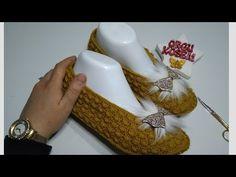 FISTIK MODEL BABET PATİK YAPIM #ceyizlik #orgupatik #patik - YouTube Summer Eyeshadow, How To Make Bed, Baby Patterns, Bridal Makeup, Crochet Baby, Knitting, Youtube, Slippers, Boots