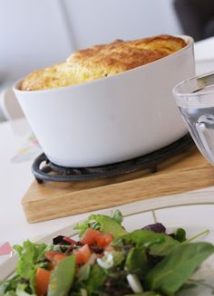 Afternoon Tea: Soufflé au fromage de grand-mère