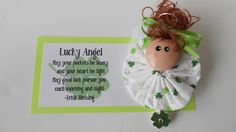 Good Luck Angel Choice of Magnet or Pin
