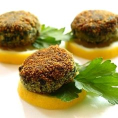 Delicious spinach cutlets
