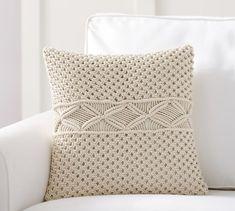 Macrame Pillow Cover | Pottery Barn