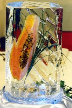 Ice Centerpieces from Brilliant Ice Sculpture Ice Luge, Ice Sculptures, Centerpieces, Age, Creative, Artist, Painting, Artists, Painting Art