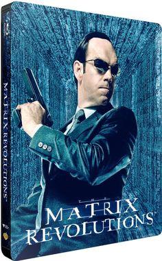 Matrix revolutions en blu-ray métal édition limitée