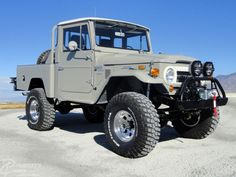 Diesel Land Cruiser | Cummins Diesel 3.3L Turbo | 1964 FJ45 Short Wheelbase Toyota Pickup
