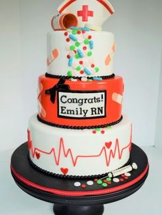 nursing graduation cakes - Google Search