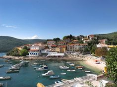 Rabac is a well known tourist destination on the south-eastern coast of Istria. Croatia Tourism, Croatia Travel, Great Places, Places Ive Been, Beautiful Places, Austria, Thousand Islands, My Land, Dream Vacations