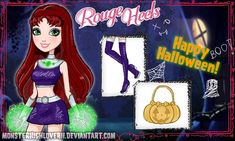 Ever After High Rebels, Red Heels, Dc Heroes, Monster High, Happy Halloween, Fairy Tales, Disney Characters, Fictional Characters, Aurora Sleeping Beauty