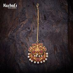 Tika Jewelry, Head Jewelry, India Jewelry, Temple Jewellery, Jewellery Earrings, Jewelery, Indian Jewelry Sets, Indian Wedding Jewelry, Bridal Jewelry