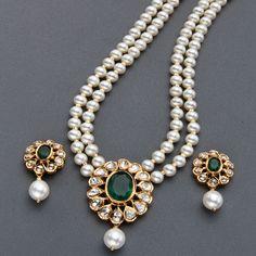 Pearls Locket Sets