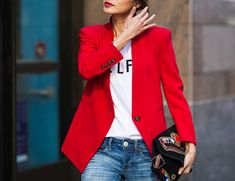 StarStyle » Fashion + Celebrity + Beauty » How To Take The Blazer From Day To Night in 3 Ways