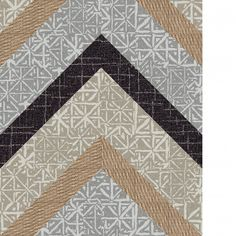 This area rug features Yabara in Stone, Dune Coming Along in Tan and Carry A Torch in Mica.This area rug contains diagonal cut tiles.  To assemble your rug, just use the FLORdots in the box with your squares.