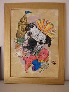 Commission Draw me a monkey  #pet #cat #dog #london #drawing #petportrait