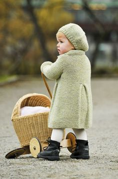 1001: Modell 1 Kåpe i rillestrikk og lue #strikk #knit #sisu