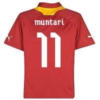 2012-13 Ghana Puma Away Shirt (muntari 11)