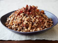 Spicy Black-Eyed Peas Recipe : Paula Deen : Food Network - FoodNetwork.comUse Turkey Bacon of course