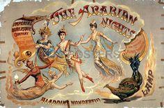 The Arabian Nights Aladdin's Theatrical Poster