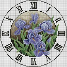Clock Rose Premium Digital Cross Stitch Pattern by OliviaXStitch Cross Stitch Kitchen, Cross Stitch Books, Cross Stitch Flowers, Diy Bead Embroidery, Cross Stitch Embroidery, Cross Stitch Designs, Cross Stitch Patterns, Holly Hobbie, Sewing Art
