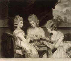 Valentine Green - Portrait of the Ladies Waldegrave