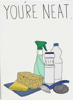 You're Neat Card http://shop.nylon.com/collections/whats-new/products/youre-neat-card #NYLONshop