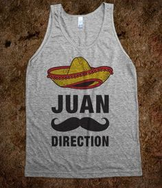 Juan Direction - Totally Awesome Text Tees - Skreened T-shirts, Organic Shirts, Hoodies, Kids Tees, Baby One-Pieces and Tote Bags  From skreened.com