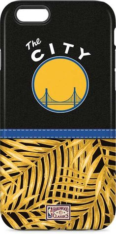 Golden State Warriors Retro Palms iPhone 6 White Pro Case | Available as a case…