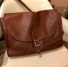 AUTH Fred Perry Leather Despatch Shoulder Luggage Duffle Messenger HandBag     eBay