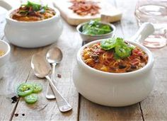 Chili, Soup or Stew on Pinterest | Chowders, Stew and Soups