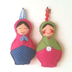 Russian doll Christmas decorations - Christmas crafts - allaboutyou.com