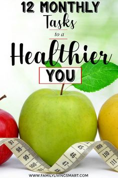 12 Months of Healthy Living: 12 Monthly Tasks To A Healthier You! #healthyliving #health #healthy via @https://www.pinterest.com/judyjwilson/